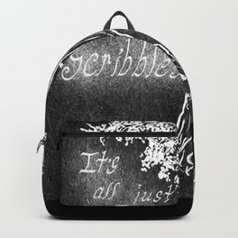 It's All Just Scribbles Backpack
