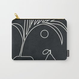 Minimal Abstrat Art 12 Carry-All Pouch