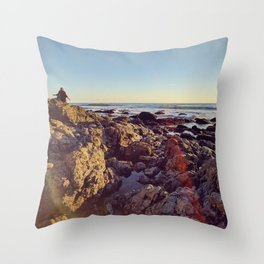 Sea and Shoals Throw Pillow