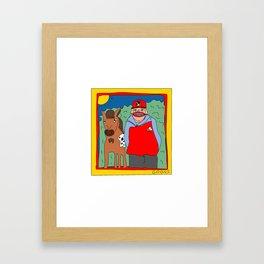 Sooner Framed Art Print