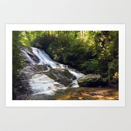 Cathy Creek Falls Art Print
