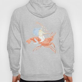 The Magnificent Shrimp Rider Hoody