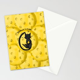 The Cheese is All Mine Stationery Cards