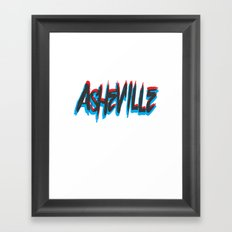 ASHEVILLE  Framed Art Print