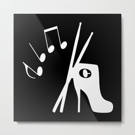 Dance to the rhythm Metal Print