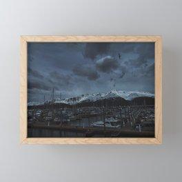 Seward Harbor Framed Mini Art Print