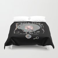 perfume Duvet Covers featuring Psychedelic Perfume by Paul Bridgeman