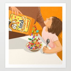 Sweetie pops Art Print