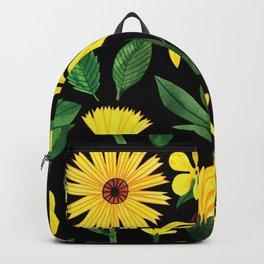 Yellow Summertime Sunflowers Backpack