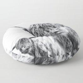HIGHLAND COW - LULU & SARA Floor Pillow