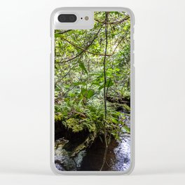Inside the forest Clear iPhone Case