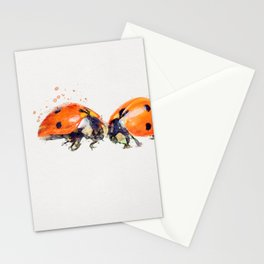 Ladybug in Love Stationery Cards