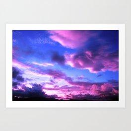 Colorful Skies Art Print