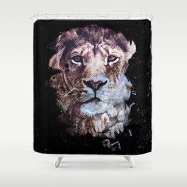 Heterochromia Iridum Shower Curtain