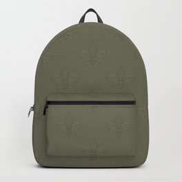 Relief royal lilies Backpack
