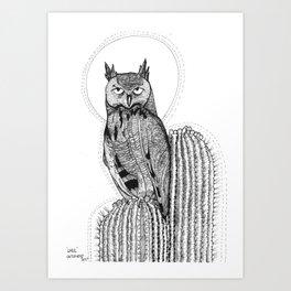 GHUL Art Print