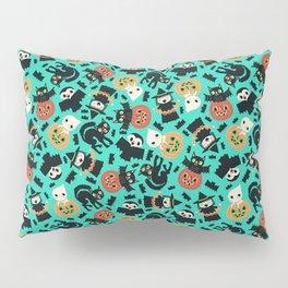 Halloween Gang blue Pillow Sham