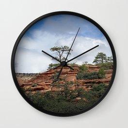 Zion Geology Wall Clock