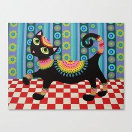 Kool Kitty Canvas Print