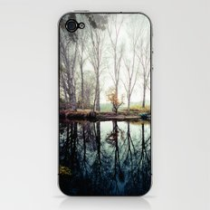 A bend in the river iPhone & iPod Skin