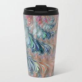 Spiraling Fractal Travel Mug
