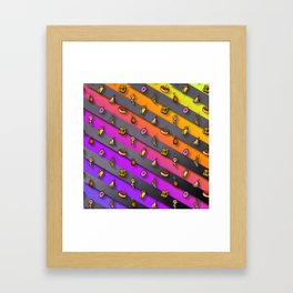 Lil Food Rain Framed Art Print