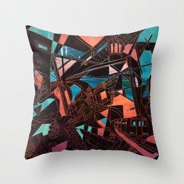 Mima Kojima Throw Pillow