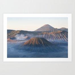 Mt Bromo, Java, Indonesia Art Print