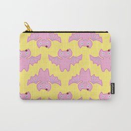 Blush Pink Bat Carry-All Pouch