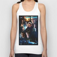 blade runner Tank Tops featuring Blade Runner by Saint Genesis