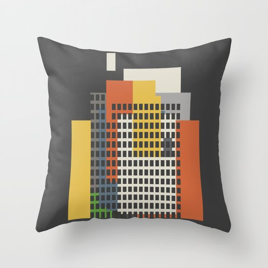 architecture and morality Throw Pillow
