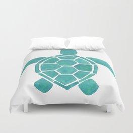 Turtle Wall Art Duvet Cover