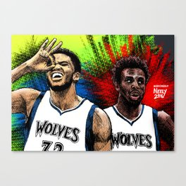 Cooking with KAT & Wiggins Canvas Print