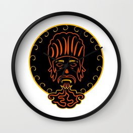 The king of vape #society6 #decor #buyart #artprint Wall Clock