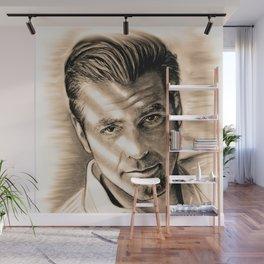 George Clooney II Wall Mural