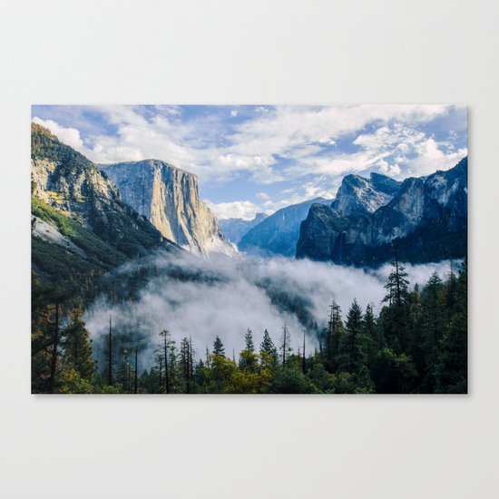 This Wandering Heart of Mine Canvas Print