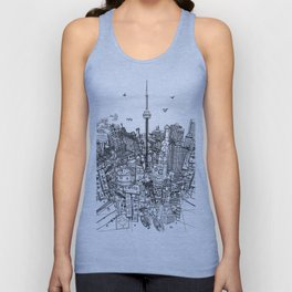 Toronto! (version #2) Unisex Tank Top