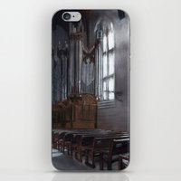 will graham iPhone & iPod Skins featuring Graham Chapel by Leah Nixon