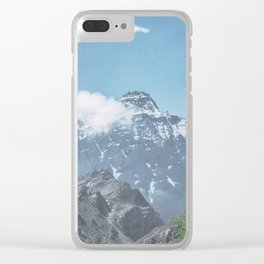 Mountains #5 Clear iPhone Case