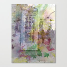 Big Ben and Telephone Booth  Canvas Print