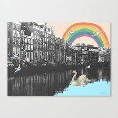 LOVE FROM AMSTERDAM!  Canvas Print
