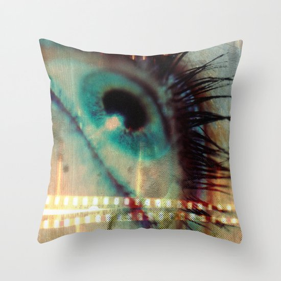 Movie! Throw Pillow