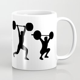 Olympic Weightlifting Evolution Coffee Mug