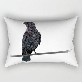 Verklempt Crow Rectangular Pillow