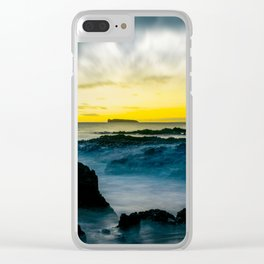 The Infinite Spirit Tranquil Island Of Twilight Maui Hawaii Clear iPhone Case