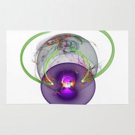 3D Halo Orb Rug