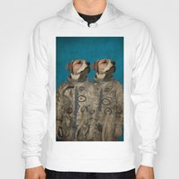 outer space Hoodies featuring Journey into outer space by Durro