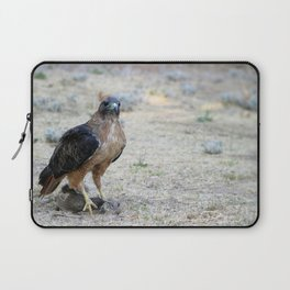 Red Tailed Hawk Catch Laptop Sleeve