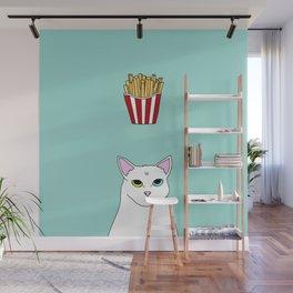 Fat D. Loves Fries Wall Mural