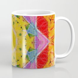 Jelly Baby Driveby Mandala Abstract Design Coffee Mug